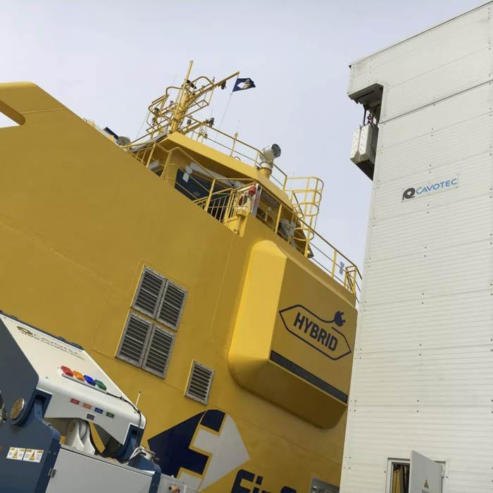 Elektra Hybrid Electric Ferry – SPBES