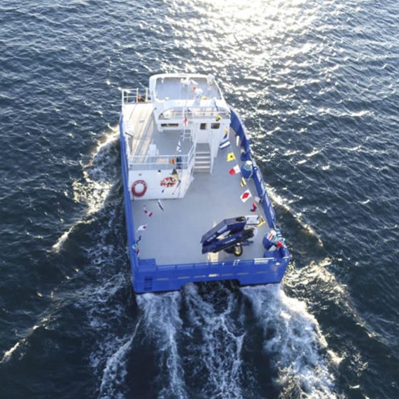 Elfrida Hybrid Fishing Workboat – SPBES